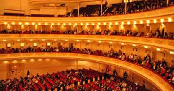 The Big Apple will welcome South Africa for three weeks in October, when the city's iconic Carnegie Hall will host a music and arts festival focusing on the nation, called Ubuntu. (Image: www.carnegiehall.org)