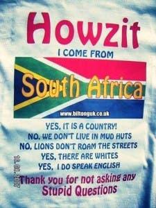 Howzit SA Questions