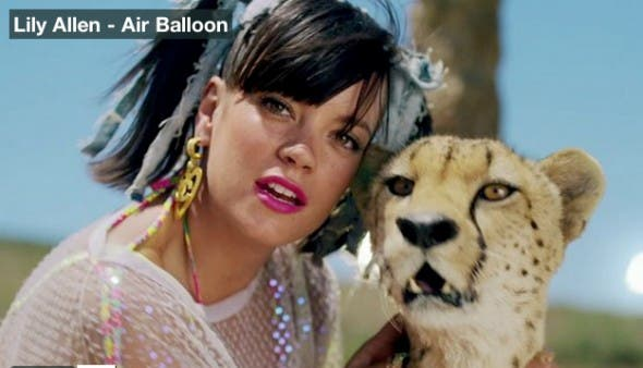 Lily Allen, Air Balloon filmed in South Africa