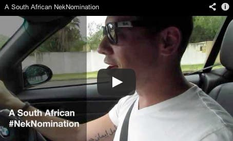 South African NekNomination