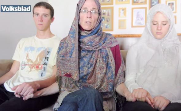 Yolande Korkie and her children in final plea to Al-Qaeda