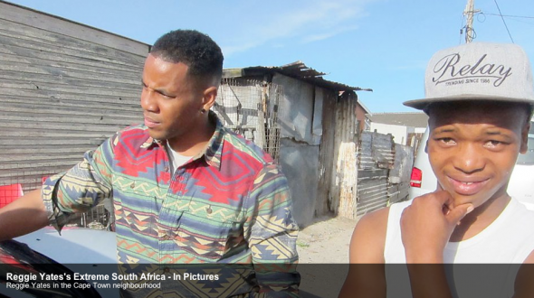 Reggie follows one of the victims into the township to find out where he was assaulted.