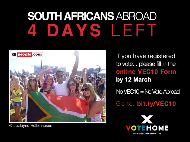 Updated: Expats now only have 4 days left to submit the VEC10 form