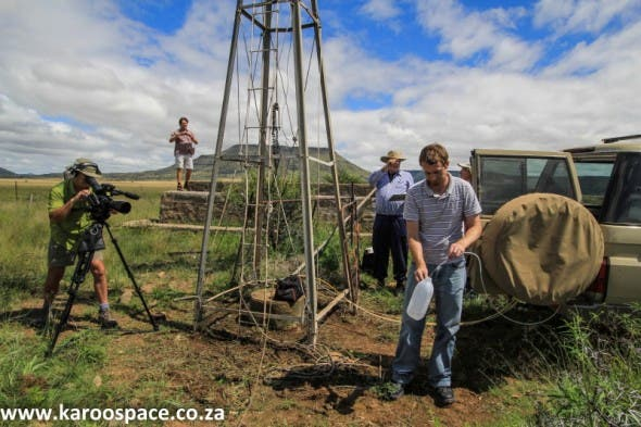 Baseline water quality testing has just begun in the Karoo, before fracking starts