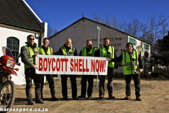 Even bikers have formed groups opposing fracking