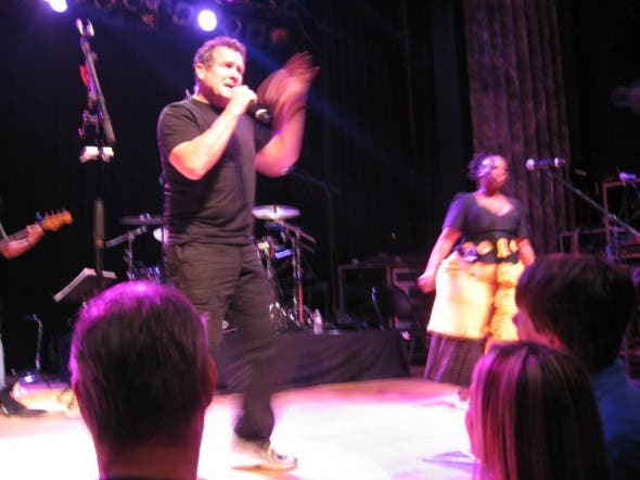 Johnny Clegg in the USA