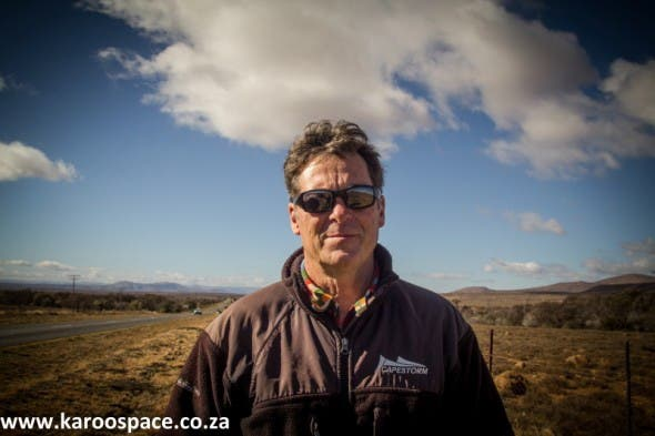 Jonathan Deal, who won the prestigious Goldman Environmental Prize for his fight against fracking in South Africa