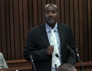 Captain Christian Mangena - the most impressive police witness to date.
