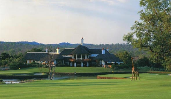 Leopard Creek golf course in South Africa