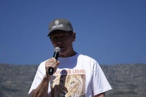 Chris Mercer organiser of the March in Cape Town