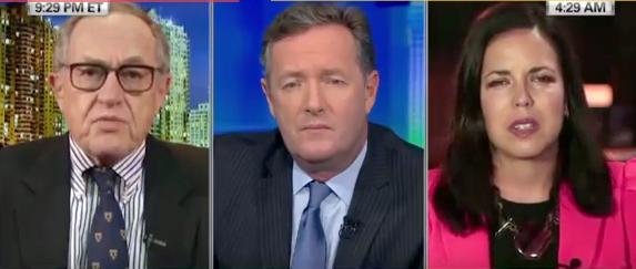 Dershowitz, Morgan and Kelly on CNN