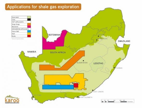 Applications for shale gas exploration