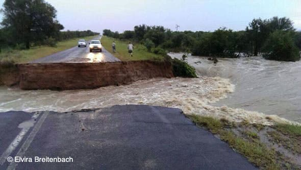 Lephalale roads flooded
