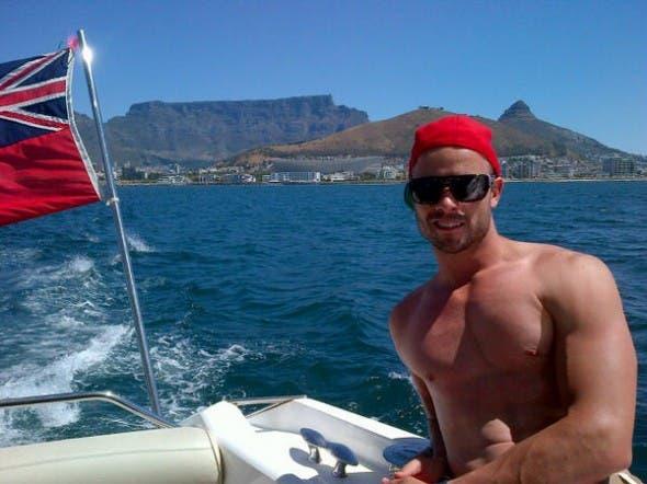Oscar Pistorius in Cape Town