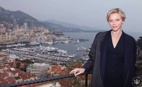 Princess Charlene in Monaco