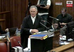 Advocate Barry Roux.