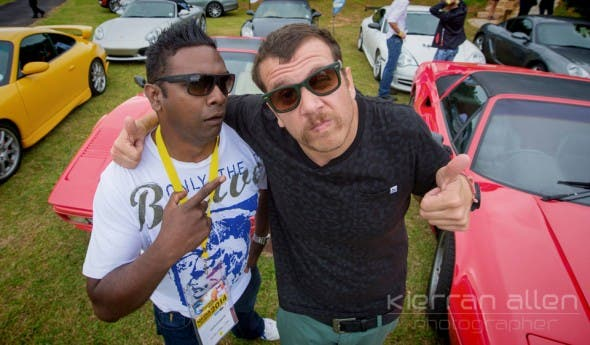 Deon Govender and Jack Parow