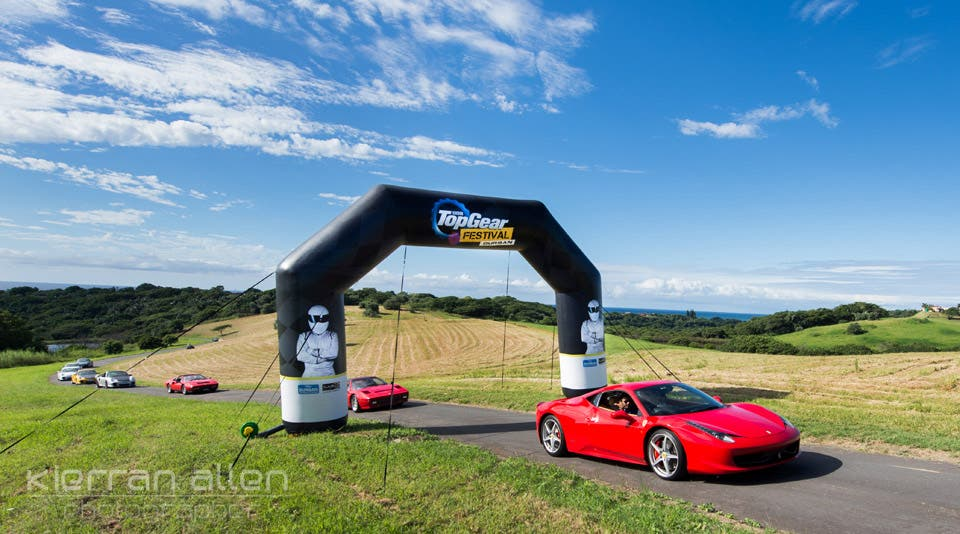 Launch of the Top Gear Festival, coming in June to Durban