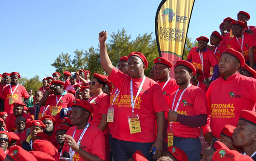EFF Supporters. Source: effighters.org.za