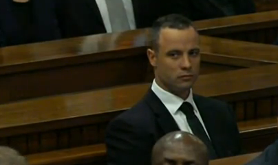 Oscar Pistorius in court on Thursday