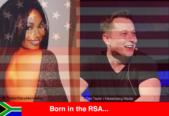 South Africans born in the RSA, doing well in the USA