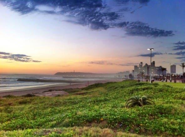 Durban beachfront 2014