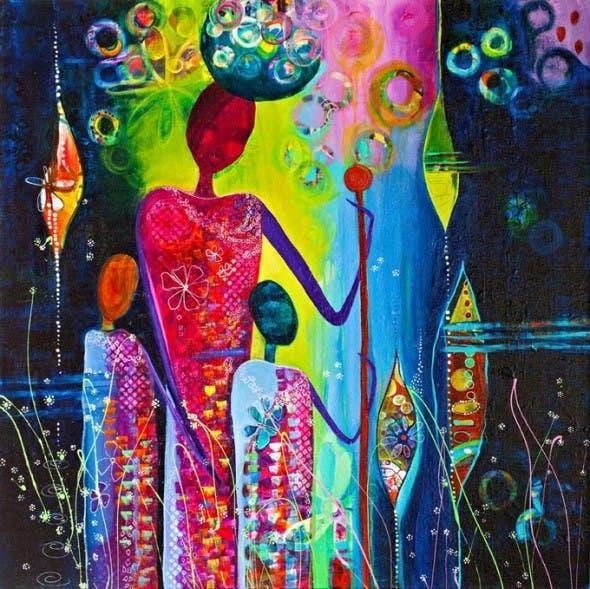 Gela-Marie Painting