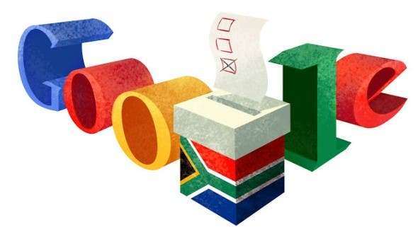 Google South African doodle