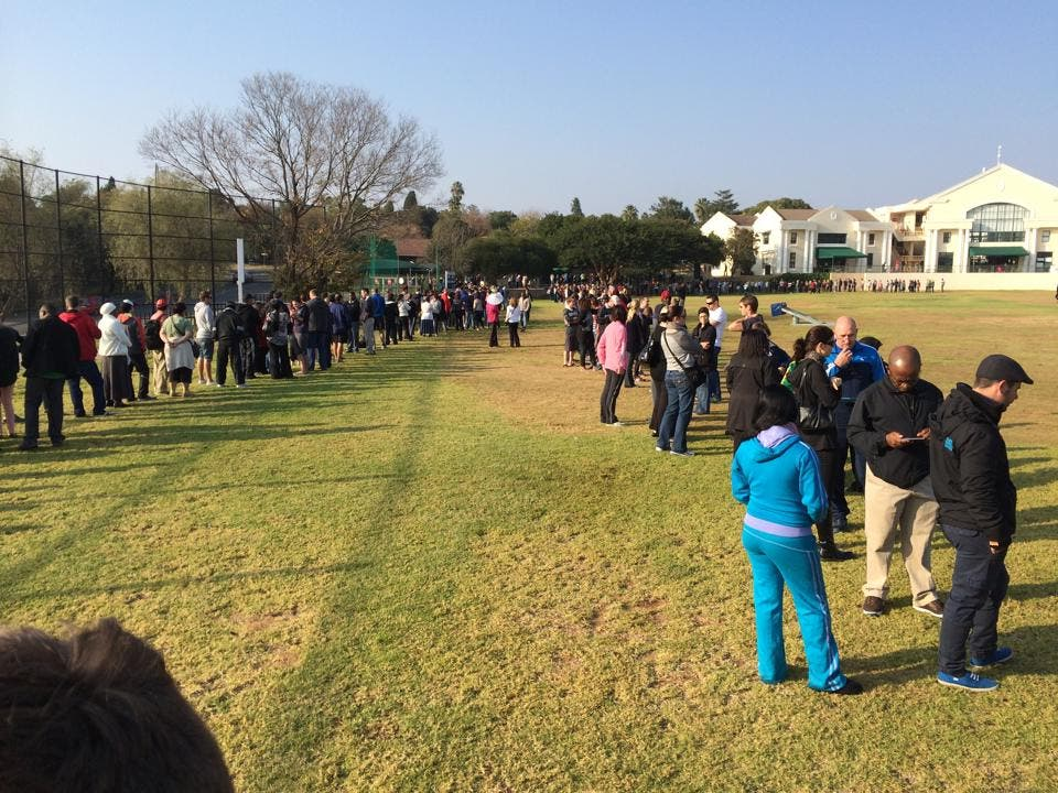 Lonehill Voting Queue, Elections