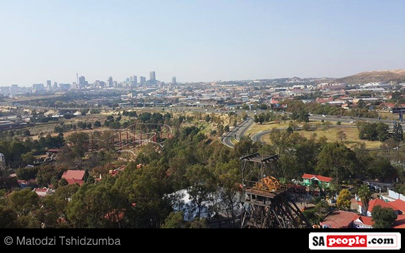 View of Johannesburg