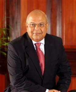 Pravin Gordhan, South African Minister of Finance