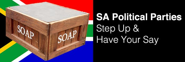 South African political parties have your say