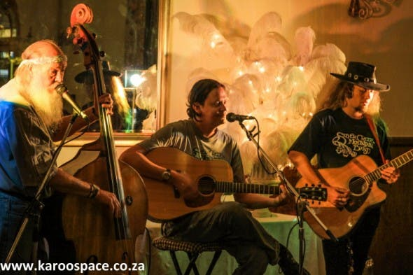 Their first rave gig at the Victoria Manor in Cradock.