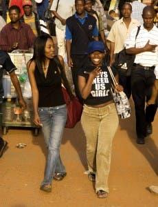 Joburg women heading home?  Photo: Chris Kirchhoff, MediaClubSouthAfrica.com
