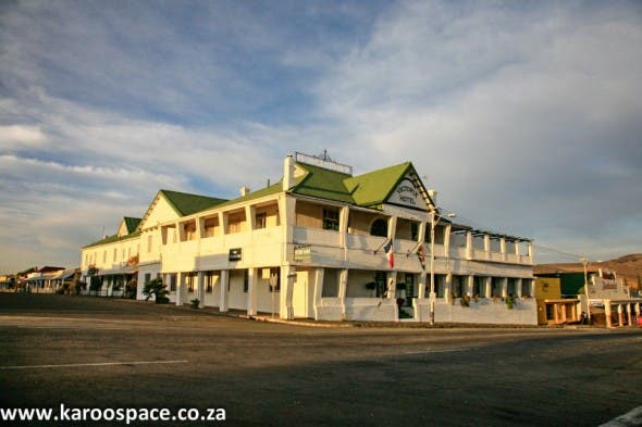 The elegant Victoria Manor Hotel in Cradock