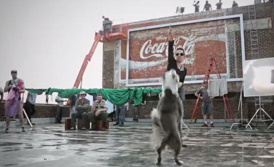South African coke advert