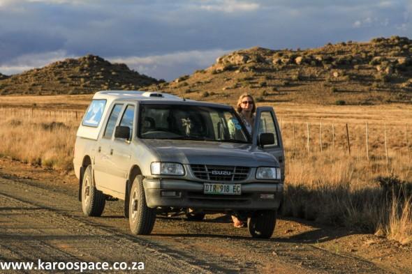 The Karoo Space bakkie