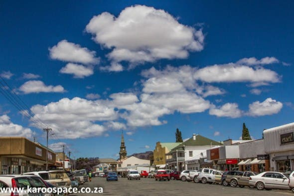 There are no malls in Cradock. Most shops line the main road.