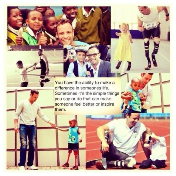 Oscar Pistorius Twitter post