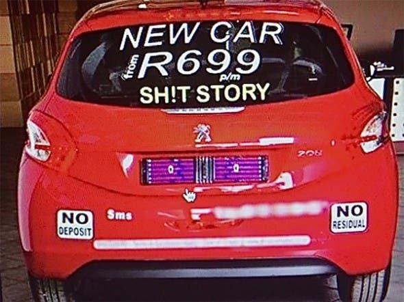 SA Car Scheme