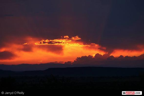 African sky...