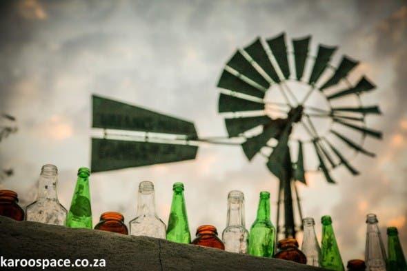 The iconic windpump in the Upper Karoo town of Williston.