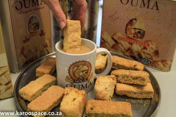 Dip an Ouma - a time-honoured South African tradition.