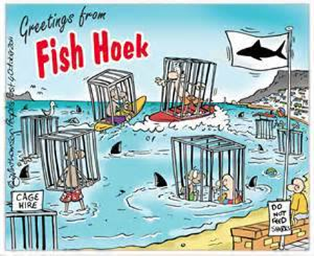 Fish Hoek Sharks Postcard