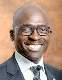 Malusi Gigaba, South Africa's Minister of Home Affairs since 26 May 2014.