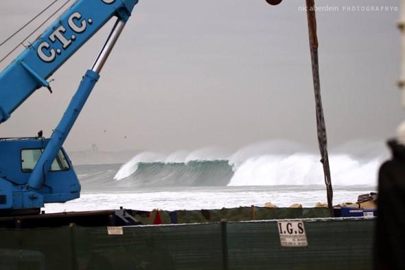 Durban beachfront swell