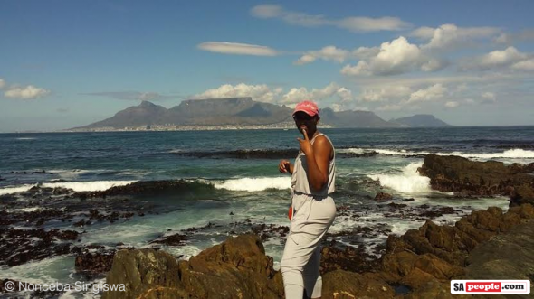 South African tourist attraction Table Mountain