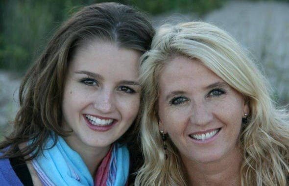 Jenna Lowe and her mother Gabi