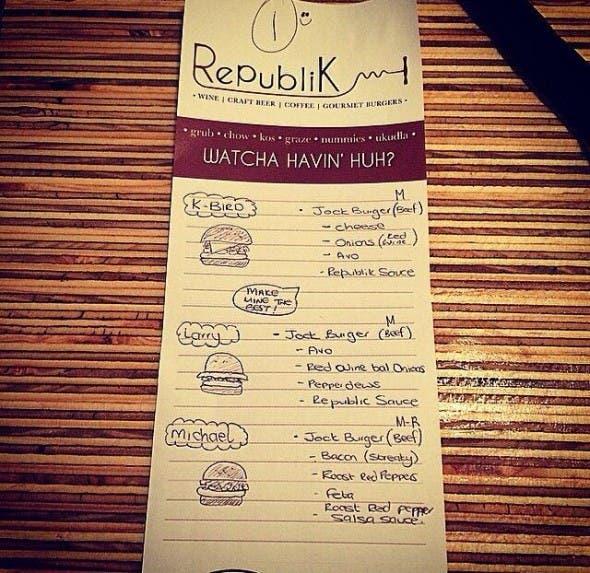 Republik Restaurant in Durban