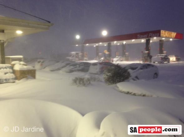 Snow storm in Buffalo